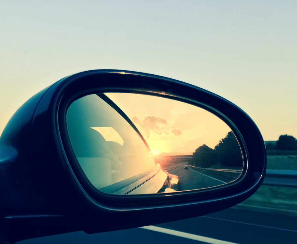 TEARING OFF MY REAR VIEW MIRROR